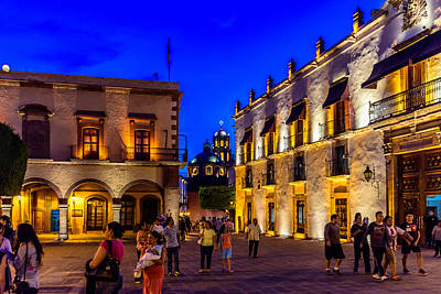 Photograph - Plaza De Armas by Randy Scherkenbach