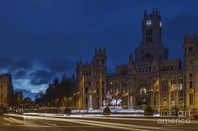 Photograph - Plaza De Cibeles Madrid Spain by Pablo Avanzini