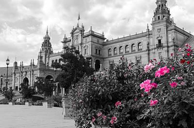 Photograph - Plaza De Espana - Sevilla - Spain by Andrea Mazzocchetti