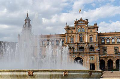 Monument Photograph - Plaza De Espana 20 by Andrea Mazzocchetti