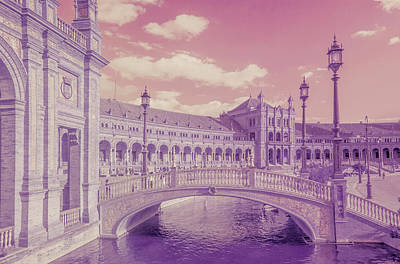 Photograph - Plaza De Espana. Dreamy by Jenny Rainbow