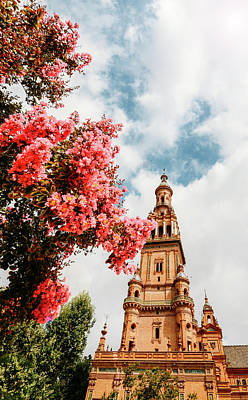Photograph - Plaza De Espana In Seville, Andalusia, Spain by Alexandre Rotenberg
