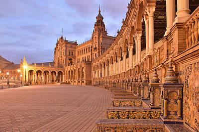 Photograph - Plaza De Espana Sevilla by Marek Stepan
