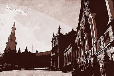 Painting - Plaza De Espana, Seville - 07 by Andrea Mazzocchetti