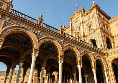 Plaza De Espana - The Stunning Architecture Art Print