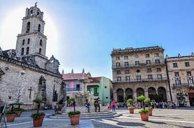 Photograph - Plaza De San Francisco De Asis by Joel Thai