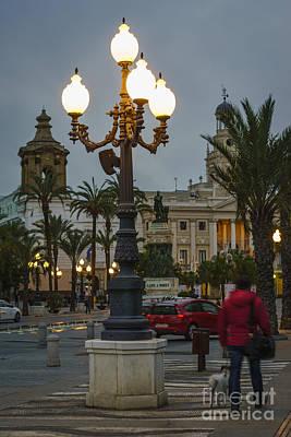 Photograph - Plaza De San Juan De Dios And The Old Town Hall Cadiz Spain by Pablo Avanzini