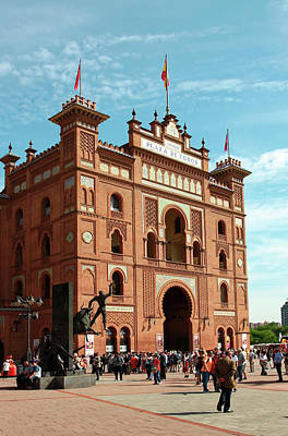 Photograph - Plaza De Toros Madrid by Sally Weigand