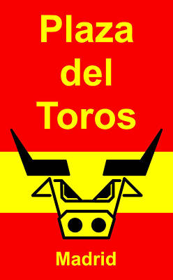Plaza Del Toros Art Print by Asbjorn Lonvig