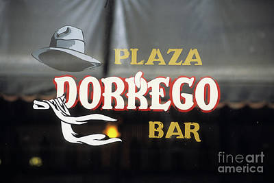 Taberna Photograph - Plaza Dorrego Bar Buenos Aires by James Brunker