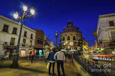 Photograph - Plaza Esteve Jerez De La Frontera Cadiz Spain by Pablo Avanzini