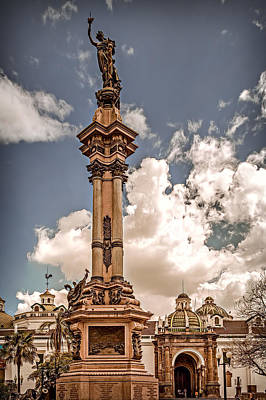 Photograph - Plaza Grande by Maria Coulson