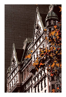Plaza Hotel Autumn Original by David Kilborn