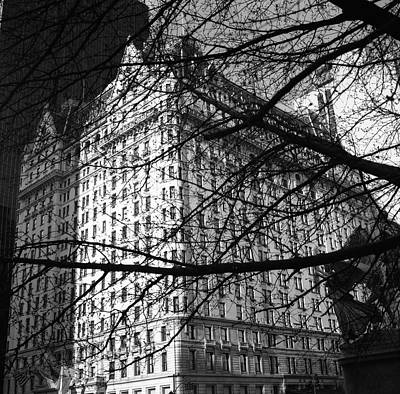 Art Print featuring the photograph Plaza Hotel by Dave Beckerman