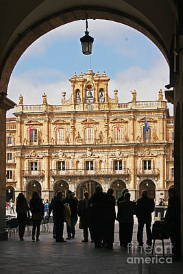 Photograph - Plaza Mayor Salamanca Spain by Rudi Prott