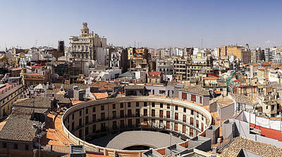 Photograph - Plaza Redonda In Valencia by For Ninety One Days