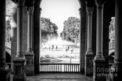 Photograph - Plaza View by John Rizzuto