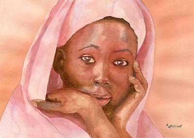 Pleading Painting - Pleading by Marsha Elliott