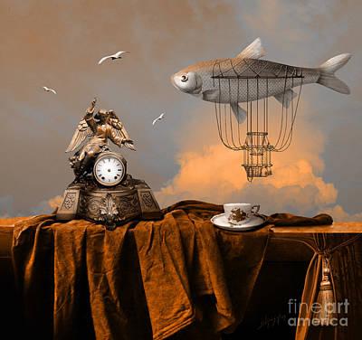 Digital Art - Pleasant Afternoon by Alexa Szlavics