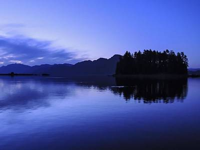 Photograph - Pleasant Bay Alaska At Dusk by NaturesPix