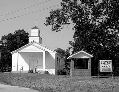 Photograph - Pleasant Hill Ame Zion Church 1 by Joseph C Hinson Photography