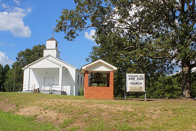 Photograph - Pleasant Hill Ame Zion Church by Joseph C Hinson Photography