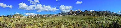 Photograph - Pleasant Valley City Of Rocks 02  by Robert Bales