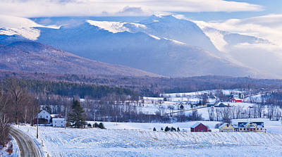 Photograph - Pleasant Valley Winter Scenic by Alan L Graham