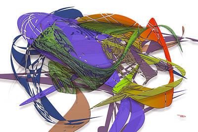 Digital Art - Pleasant by Warren Lynn