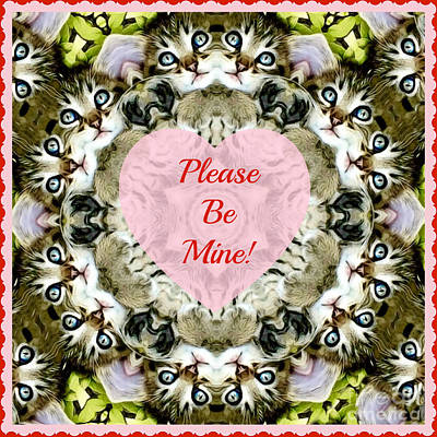 Photograph - Please Be My Valentine by Kathy M Krause