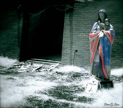 Brian Lukas Photograph - Please Don't Forget Us - Hurricane Katrina by Brian Lukas