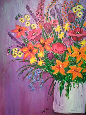 Painting - Please Forgive Me by LaBadie