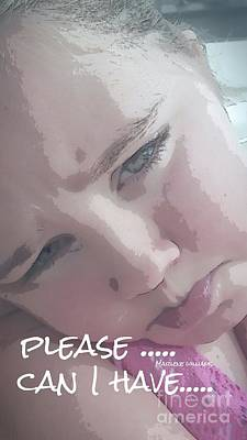 Please Art Print