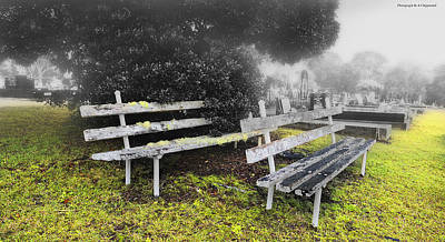 Photograph - Please Take A Seat 001 by Kevin Chippindall