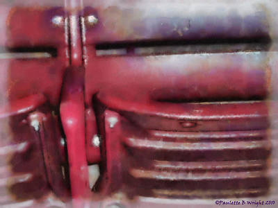 Please Take Your Seat Art Print by Paulette B Wright