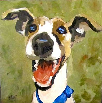 Painting - Pleased With Himself by Barbara O'Toole
