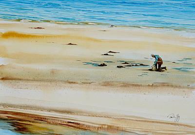 Painting - Pleasant Bay Clammer by Paul Gaj