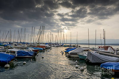 Small Boat Photograph - Pleasure Boat. France by Bernard Jaubert
