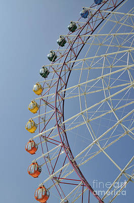 Japan Town Photograph - Pleasure Town Ferris Wheel by Andy Smy