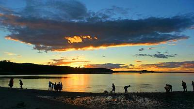 Photograph - Pleasures Along The Bar-bar Harbor Maine U.s.a. by Mike Breau