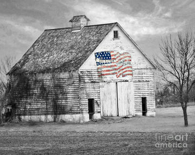 Photograph - Pledge Of Allegiance Crib by Kathy M Krause