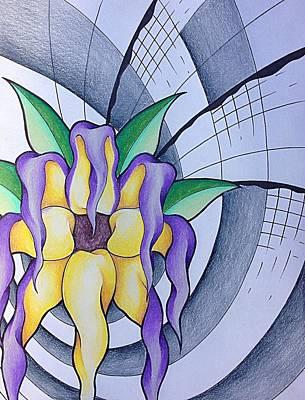 Pleiadean Sunflower Original by Noah Babcock