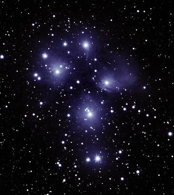 Photograph - M45 Pleiades by Alan Conder