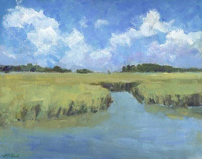 Painting - Plein Air Marsh by Michel McNinch