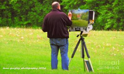 Photograph - Plein Air Printemps by Tami Quigley