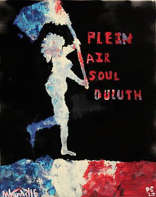 Plein Air Soul Duluth Original by Matthew Landry