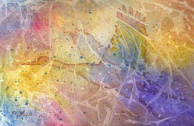 Painting - Pleistocene Dreams 1 by Marsha Karle