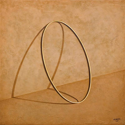 Shadow Wall Art - Painting - Plenty Of Emptiness by Horacio Cardozo