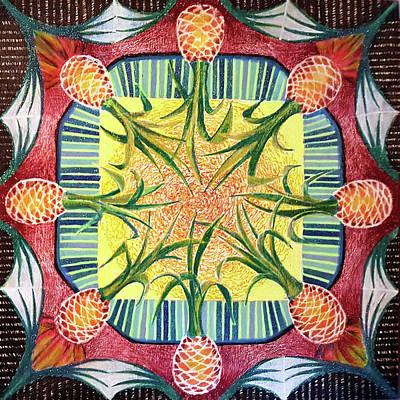 Plenty Pineapples Art Print