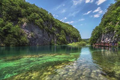 Croatia Photograph - Plitvice by Chris Fletcher